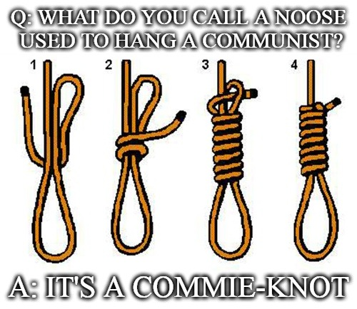 commie-knot